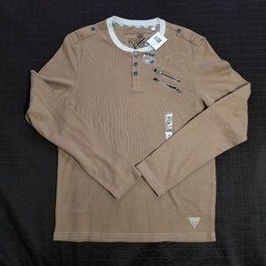 Guess henley shirt